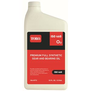 Toro Premium Full Synthetic Gear & Bearing Oil